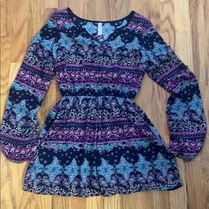 Xhiliration long sleeve romper